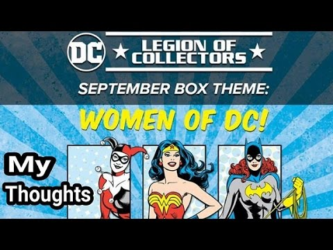 Women of DC Box - My Thoughts