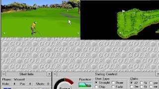 Microsoft Golf 1.0 - Wacky Sounds