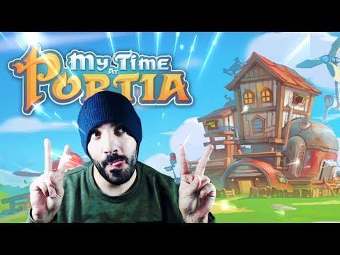 EL JUEGO MÁS BONITO DEL MUNDO - My Time At Portia | iTownGamePlay