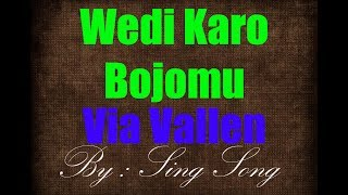 Via Vallen - Wedi Karo Bojomu Karaoke No Vocal