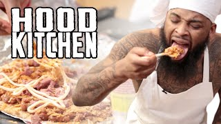 Hood Kitchen Ep. 1 - Noodle Pizza Starring King Keraun #NewSeries