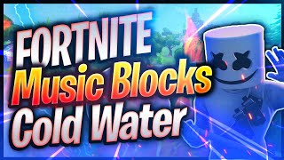 Major Lazer - Cold Water ft. Justin Bieber - MMD (Fortnite Creative By CampYzY) (code dans la description)