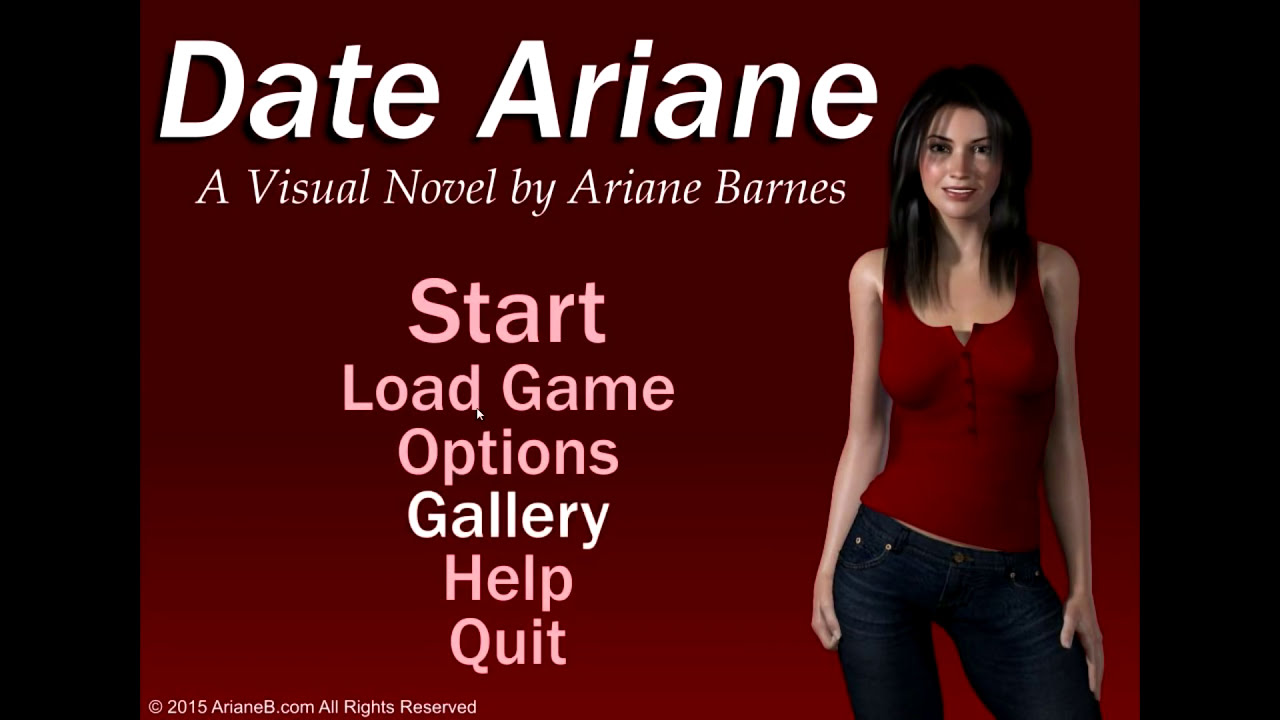 dating simulator date ariane beaten 2016 video
