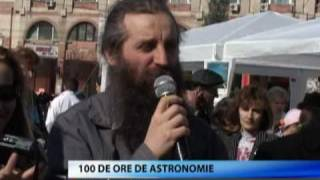 100 Hours of Astronomy at Targoviste at Columna TV News