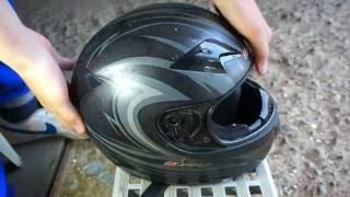 Как покрасить шлем. Подготовка(В этом видео вы увидите один из возможных вариантов подготовки шлема для покраски., 2016-07-18T17:47:26.000Z)