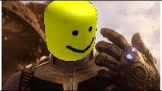 Thanos Jr meets Thanos In Roblox?   ReoGameeTv