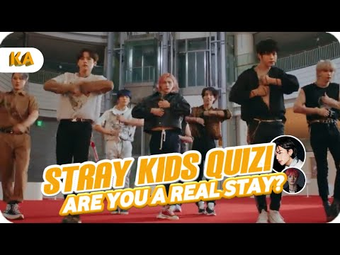 STRAY KIDS QUIZ! | Are you a real STAY? | K-POP Game |