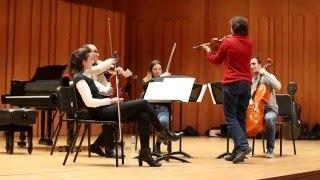 El Quartet Casals al Cicle Liceu Cambra – masterclass i concert