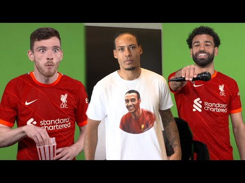 Hilarious behind the scenes on media day | Van Dijk's tribute, gif-making & Robbo causes chaos