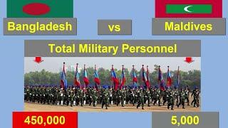 বাংলাদেশ বনাম মালদ্বীপ || Bangladesh vs Maldives Comparison