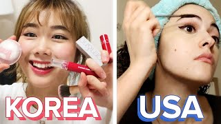 American Vs. South Korean Makeup And Skincare Routines