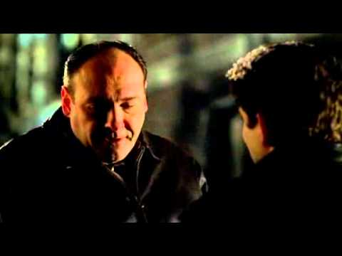 The Sopranos - Tony And Christopher Talk Leadership