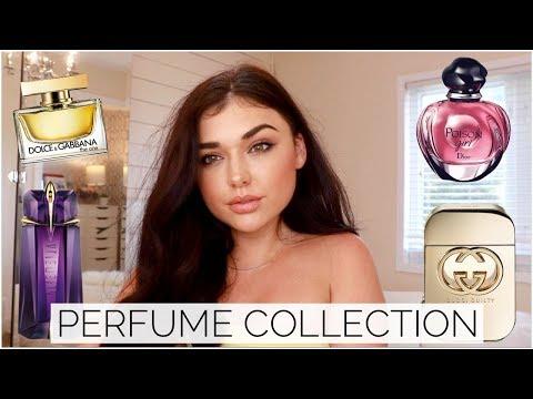 LUXURY PERFUME COLLECTION 2018   Dior, YSL, D&G    | Chloe Zadori