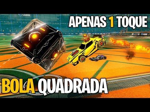 APENAS 1 TOQUE COM A BOLA QUADRADA! O BOUNCE TROLL! SHOW - Rocket League