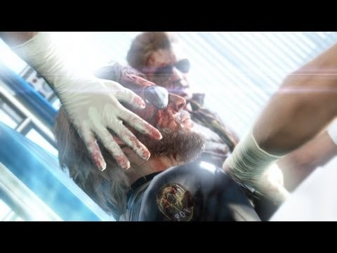 Metal Gear Solid 5: The Phantom Pain | ГЕЙМПЛЕЙ (GDC 2013)