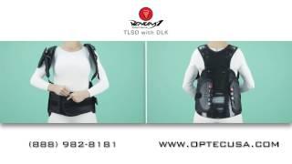Best Back Brace VENUM™ 1 TLSO w/ DLK Fitting Instructions