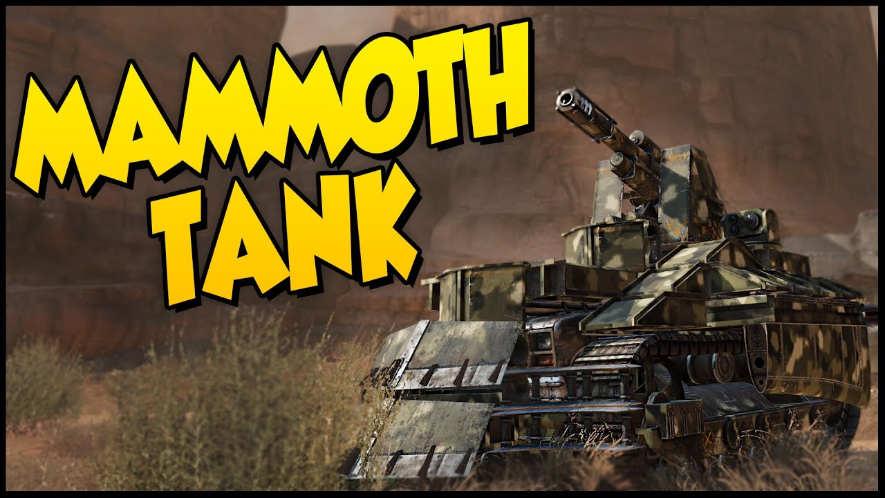 crossout mammoth tank