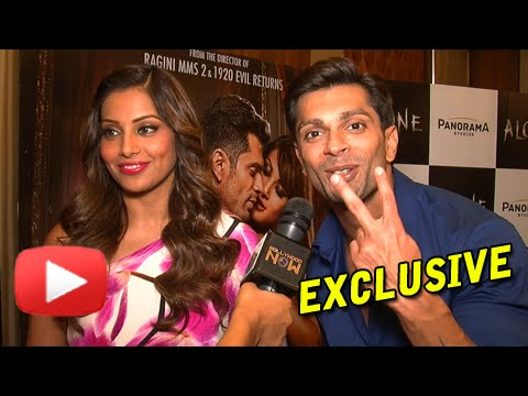 EXCLUSIVE! Bipasha Basu And Karan Singh Grover MOST CANDID INTERVIEW! | Alone