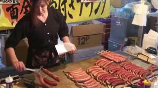 Японская Уличная Еда - Традиционная Японская Кулинария