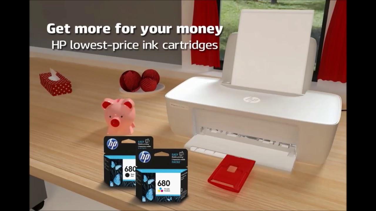Hp Deskjet Ink Advantage 1115 Printer F5s21b Document And Photo Printers Youtube