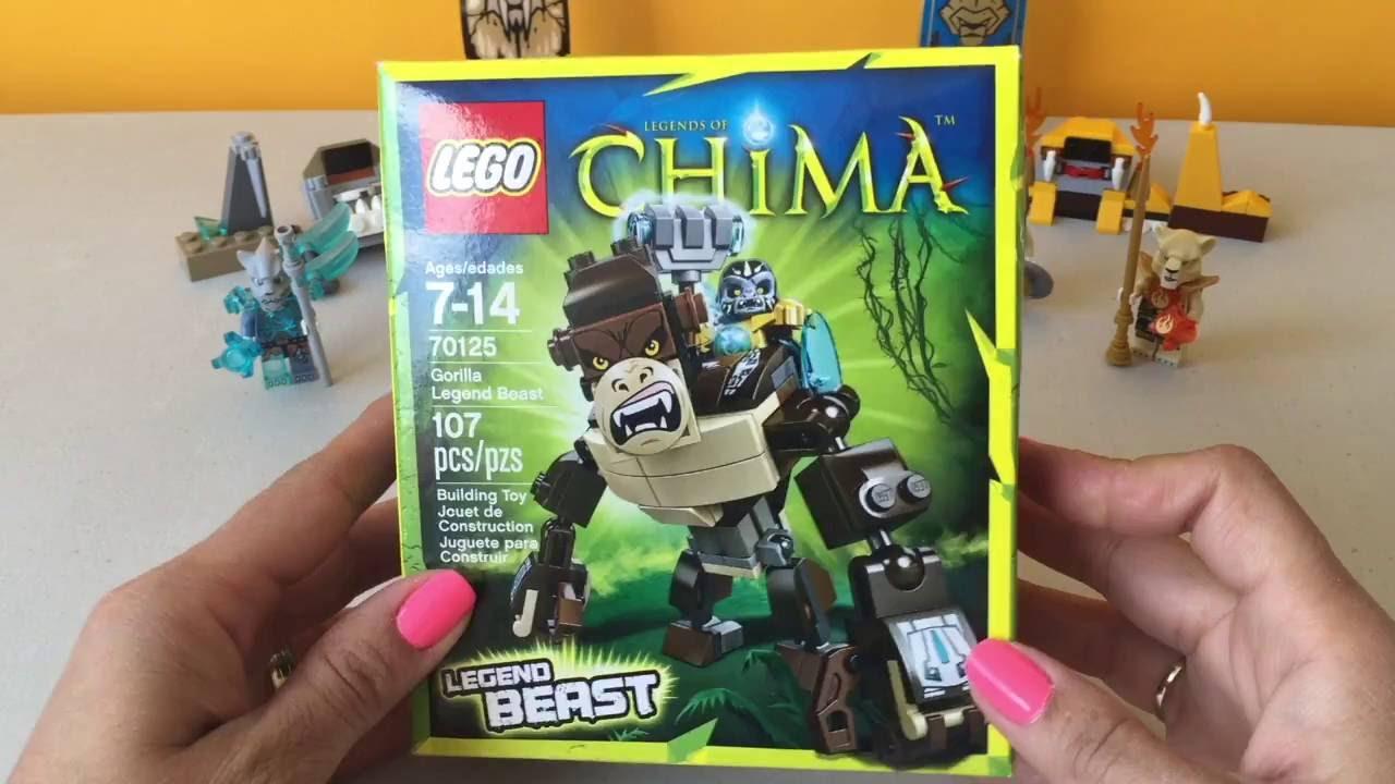 LEGO Chima Bestia Gorila | Gorilla Legend Beast LEGO Kidsplace Town ...
