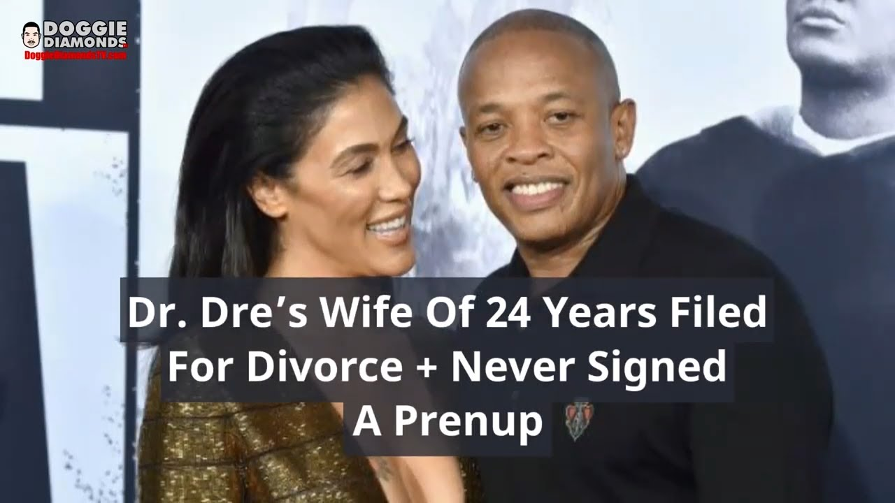 Dr. Dre's Wife Filed For Divorce And She  Never Signed A Prenup (She Might Get Half Of His $800M)