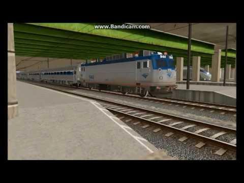 Trainz 2009: Amtrak Series by jaymacnally