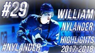 WILLIAM NYLANDER HIGHLIGHTS 17-18 [HD]