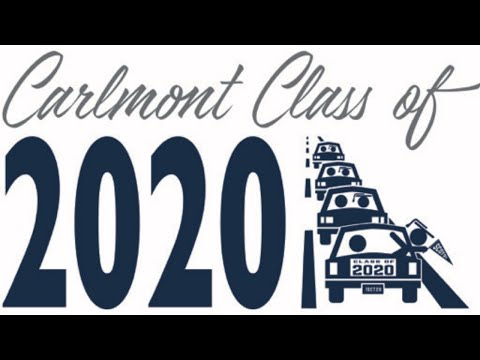 Carlmont High School Class of 2020 Car Parade