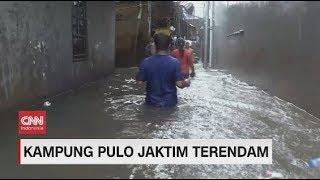 Gambar cover Hujan Deras, Sejumlah Wilayah di Jakarta Mulai Tergenang Banjir