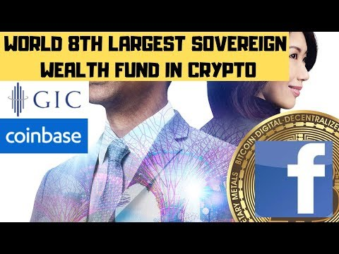 SOVEREIGN WEALTH FUND-COINBASE! FACEBOOK COIN BECOMING REALITY! KRAKEN $100K QUADRIGACX!