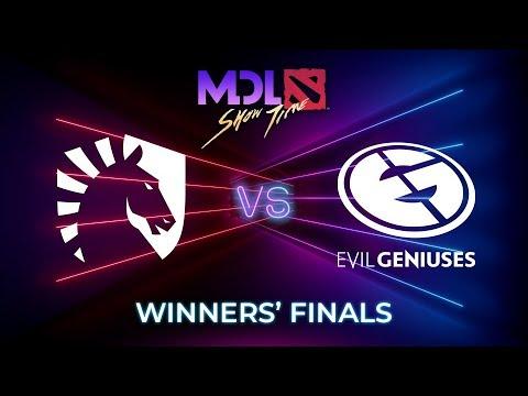 Team Liquid vs Evil Geniuses Game 1 - MDL Macau 2019: Winners' Finals