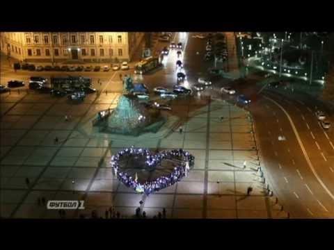 Видео: Флешмоб в поддержку сборной Украины
