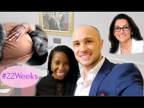 PREGNANCY SCANS & MEETING FIRST FEMALE SURGEON - A WEEK IN MY LIFE | AdannaDavid