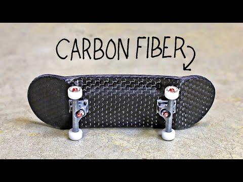 D.I.Y CARBON FIBER FINGERBOARD!