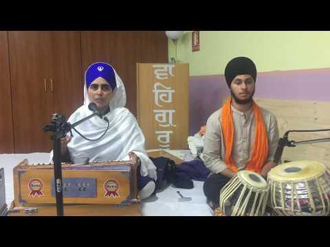 Bibi Mandeep Kaur | Gurmat Vichar + Amazing Kirtan | Barcelona - Day 1
