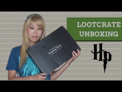 Wizarding World Box by Lootcrate │ September Unboxing