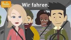"""Deutsch lernen mit Dialogen / Lektion 7 / Was machst du am Dienstag? / Aussprache """"ch"""" und """"sch"""""""