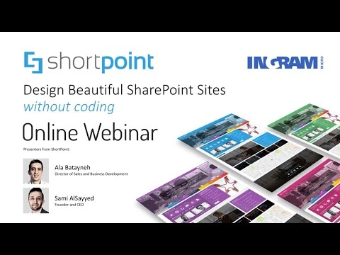 Webinar: Improve the UI & UX of existing SharePoint Intranet