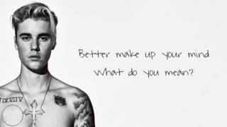 Download lagu Justin Bieber What Do You Mean MP3