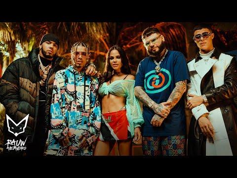 Rauw Alejandro, Anuel AA, Natti Natasha Ft. Farruko and Lunay - Fantasías Remix (Official Video)