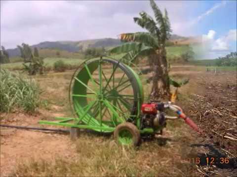 Reel Irrigation Ka Tubo Kun Tag-ilinit