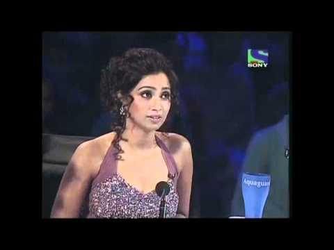 X Factor India - Geet Sagar performing Ek Ladki Bheegi Bhaagi Si- X Factor India - Episode 18 - 15th Jul 2011