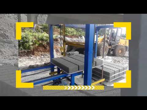 4-15c automatic cement solid blocks making machinery