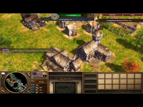 Age of Empires III: The War Chiefs Fire Mission 5 : Saratoga
