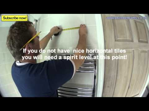HOW TO INSTALL A TOWEL RADIATOR - Plumbing Tips