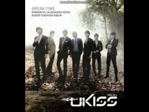 NEW! U-Kiss - Shut Up w/ DOWNLOAD (Break Time Mini-Album)