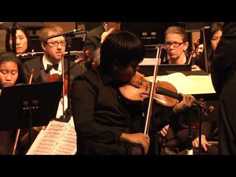 Henri Vieuxtemps Violin Concerto No. 5 - Luke Hsu