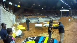 motocross crash then fight (bad boys arenacross)