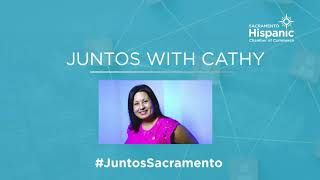 """""""Juntos with Cathy"""" 10 second bump-in"""